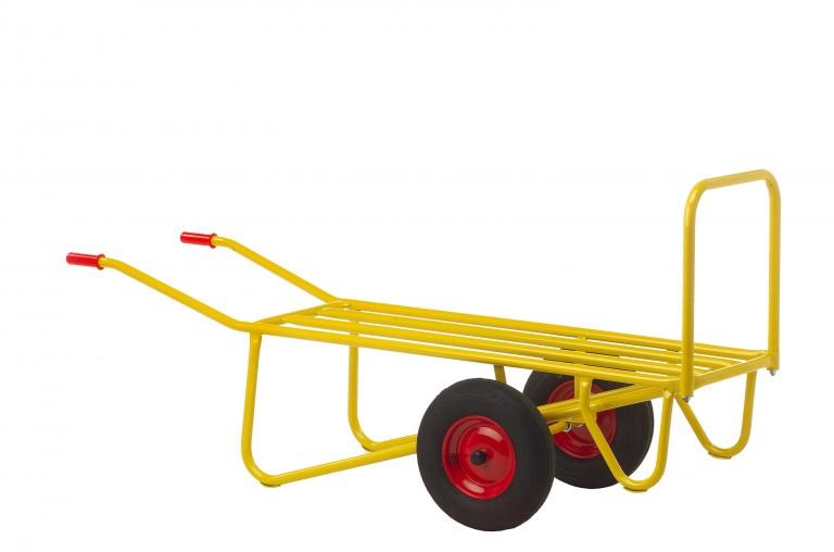 Halmballe- og gartnervogn