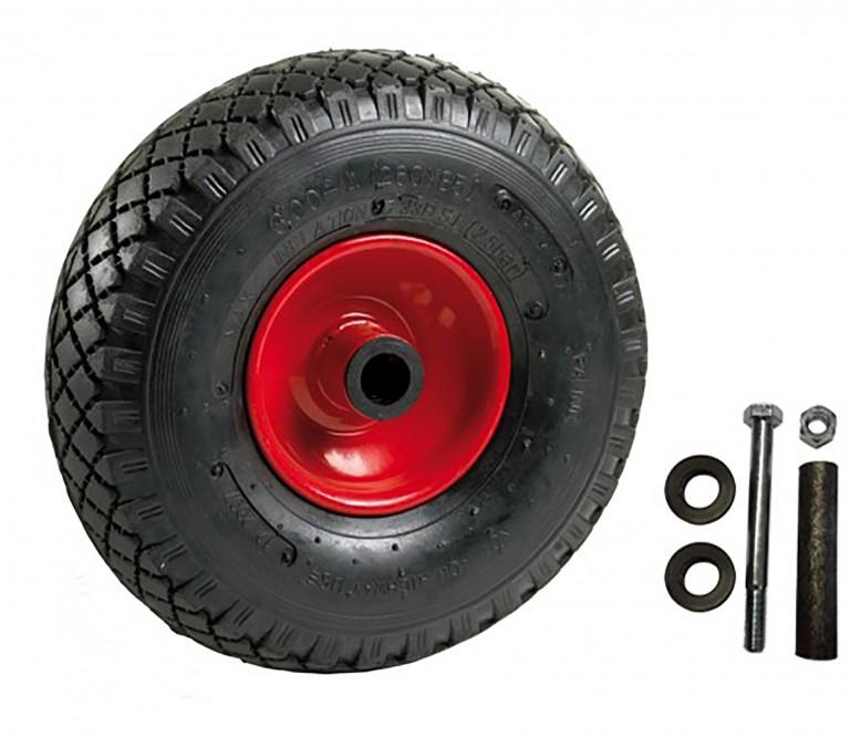 Luftgummihjul inkl. bøsningssæt